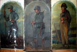 Soldatenbilder aus der Jacobikirche