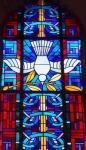 Pfingstfenster von Wilhelm Schmied